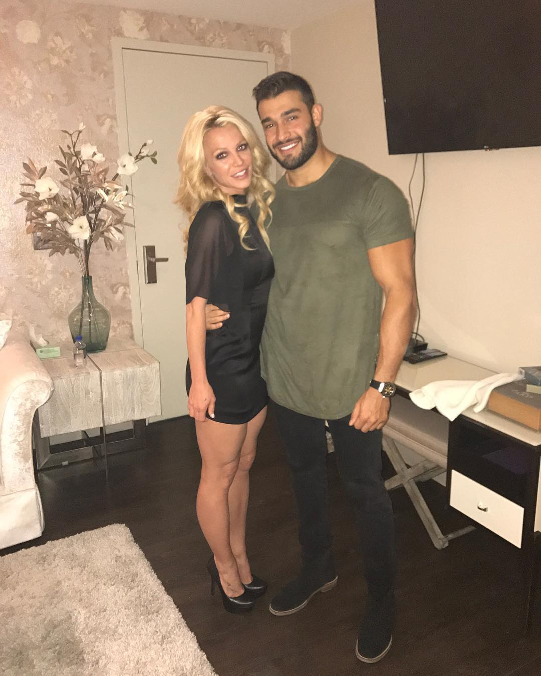 Britney Spears and her Iranian boyfriend