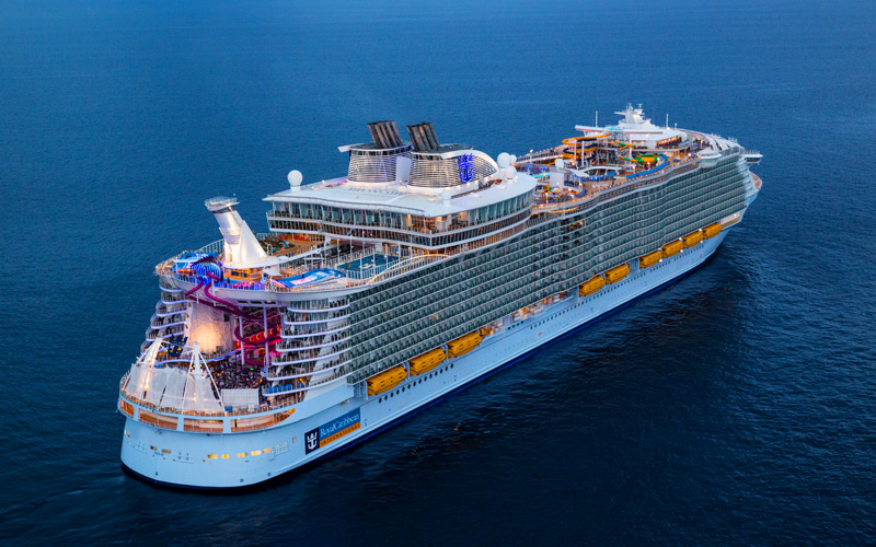 Inside the worlds largest cruise ship