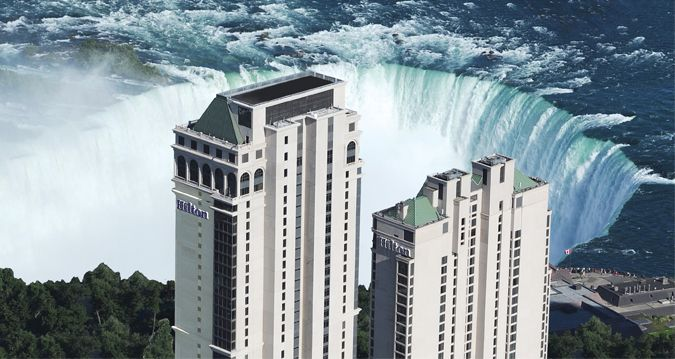Hotels that are freakishly tall
