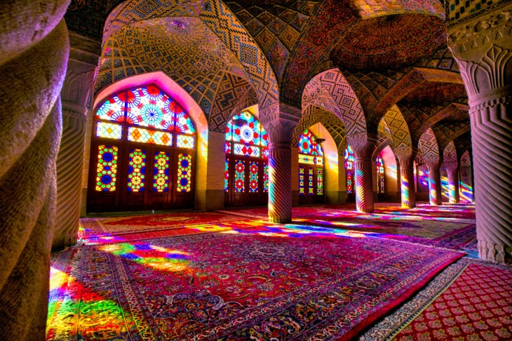 Beautiful places in the Middle East