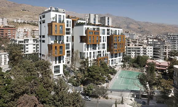 Zafaraniyeh Garden complex in Tehran