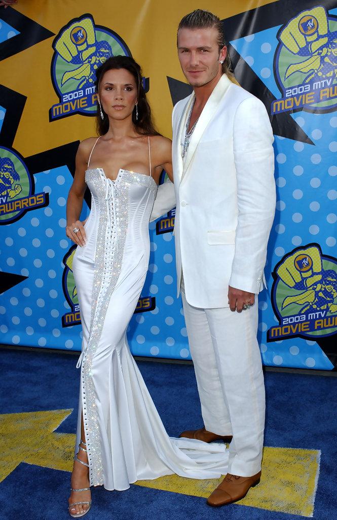 David and Victoria Beckham Stylish moments