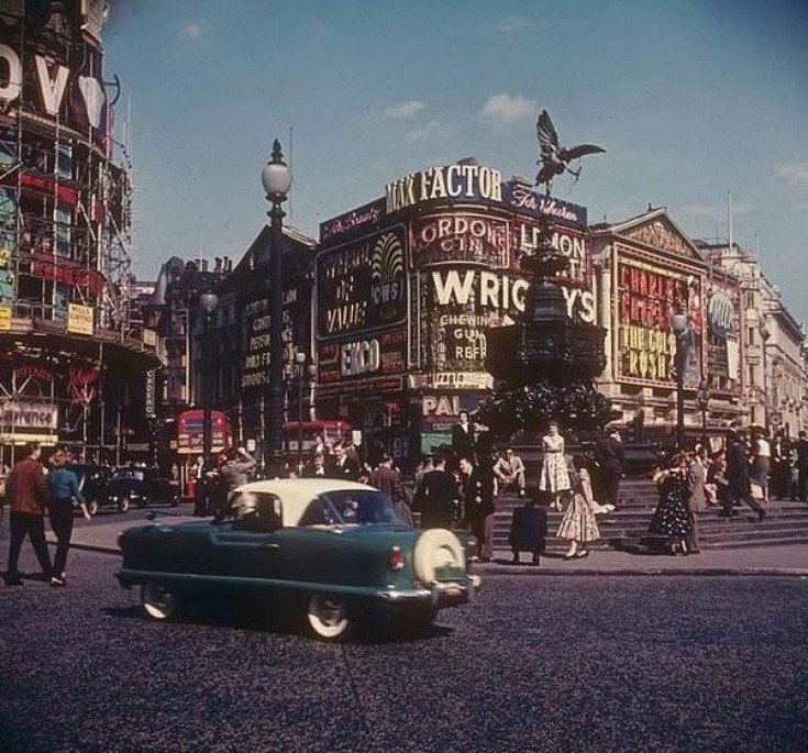 London in the 1950s