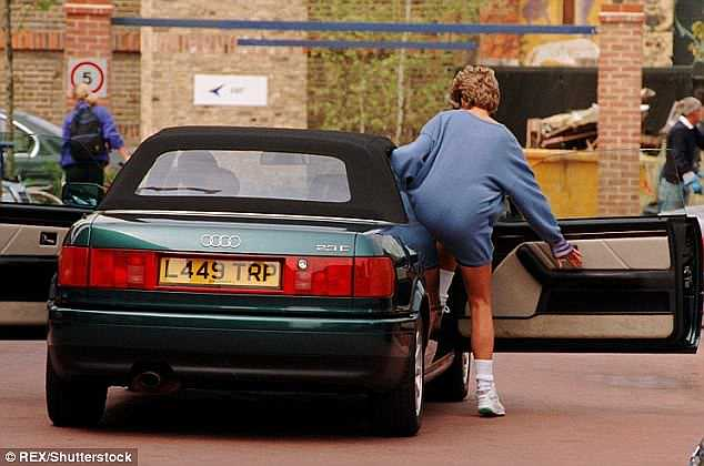 Princess Diana's Audi on sale