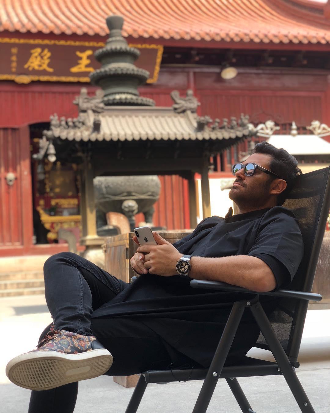 Mohammad Reza Golzar in China
