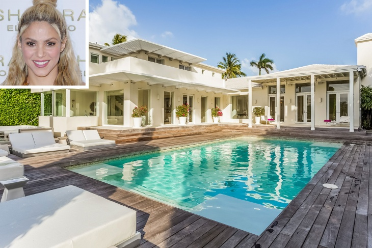 Shakira's Miami mansion for $11million