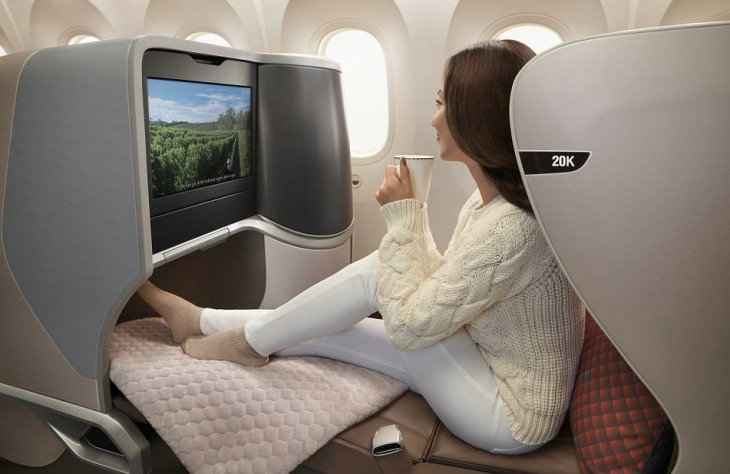 Inside Singapore Airlines new aircraft