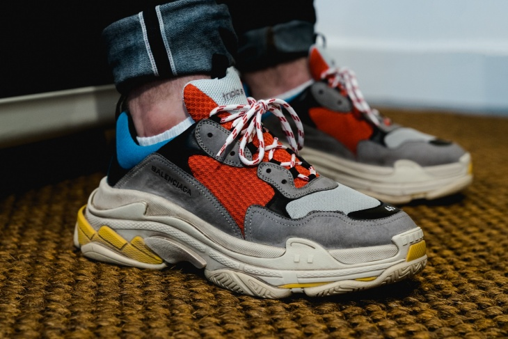 Crazy overpriced designer sneakers
