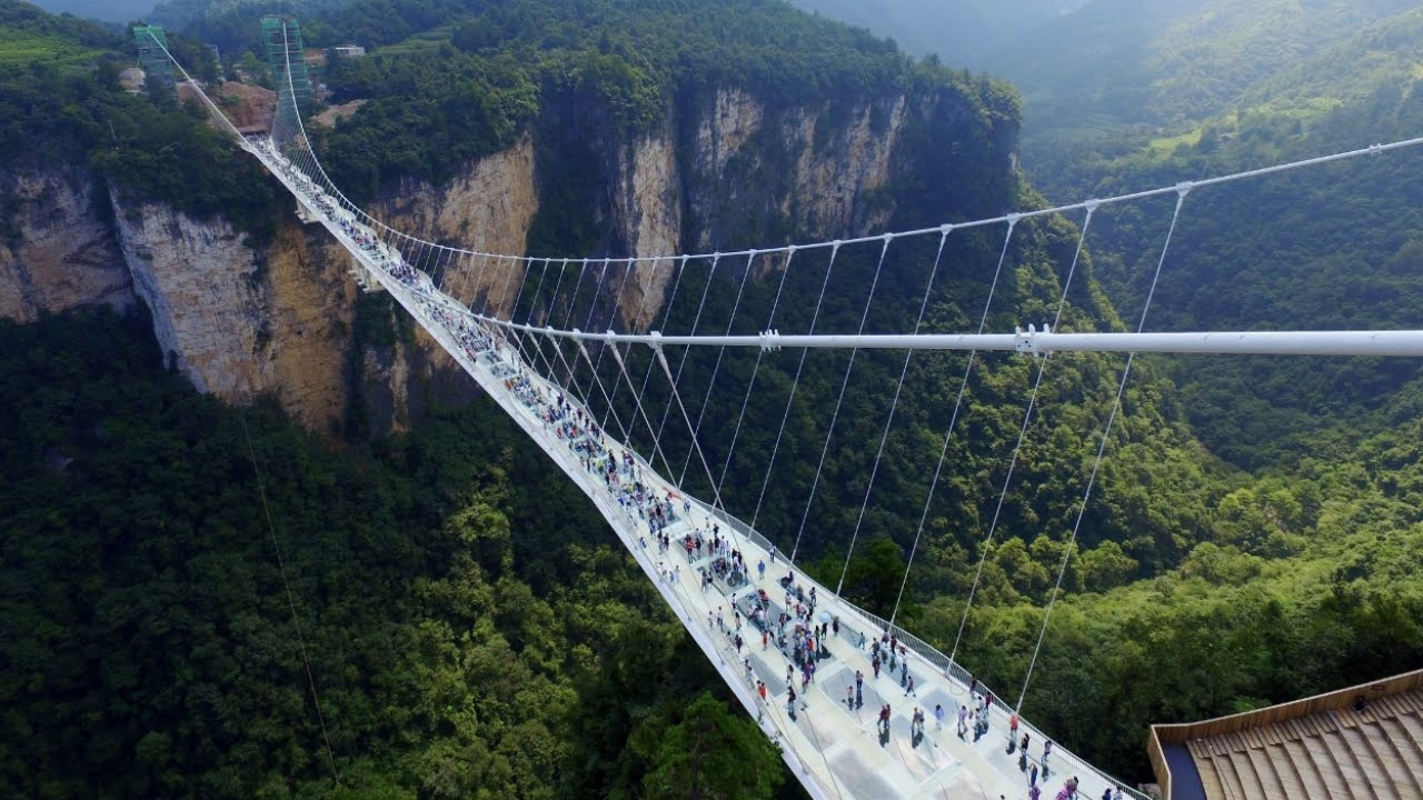 Scary bridges around the world