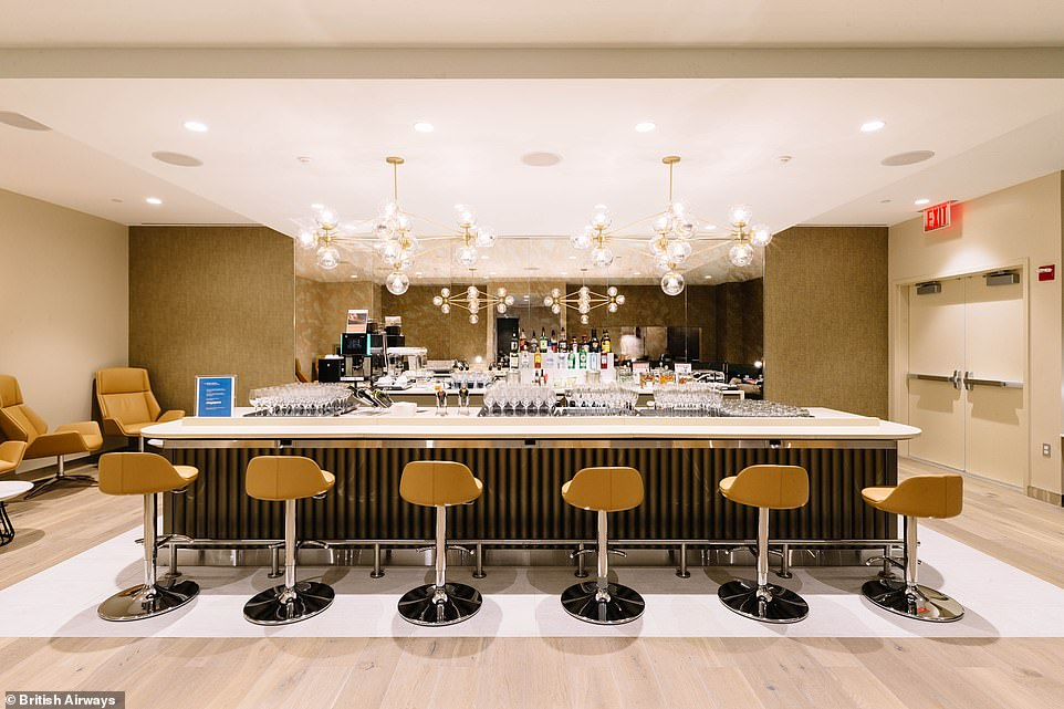 British Airways new first class lounge at JFK