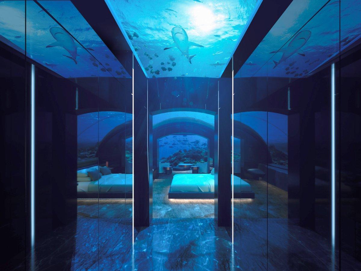 Inside the world's first underwater villa