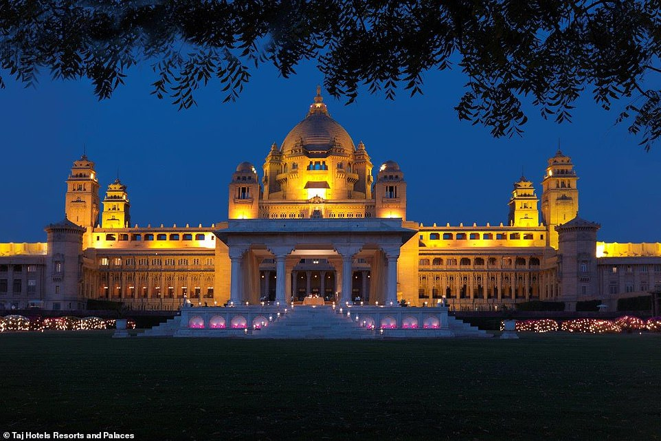 Inside the beautiful palace Priyanka Chopra got married in