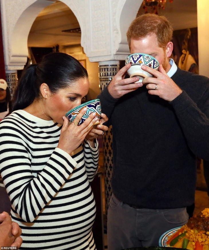 Prince Harry and Meghan in Morocco