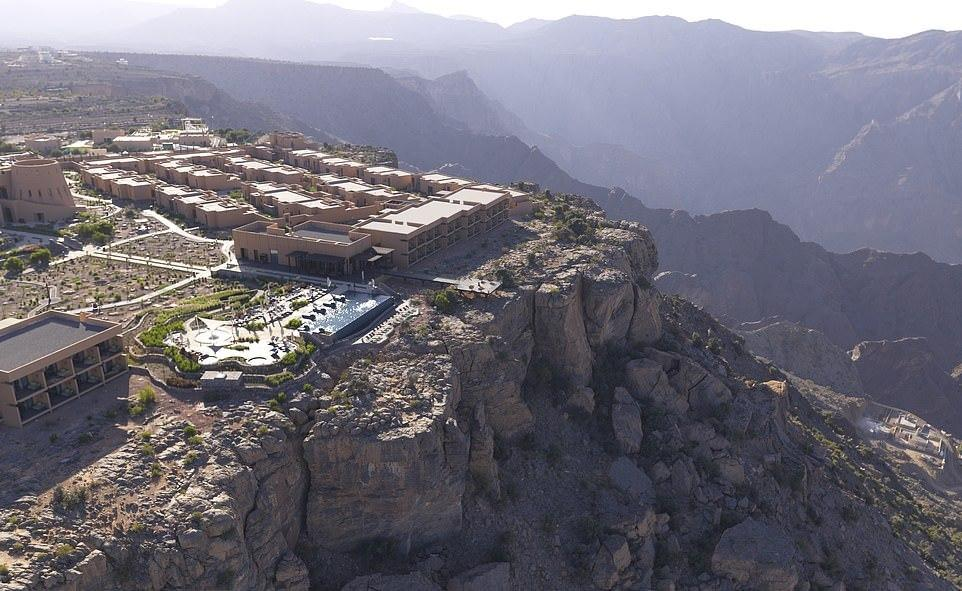 Stunning mountain top hotel in Oman