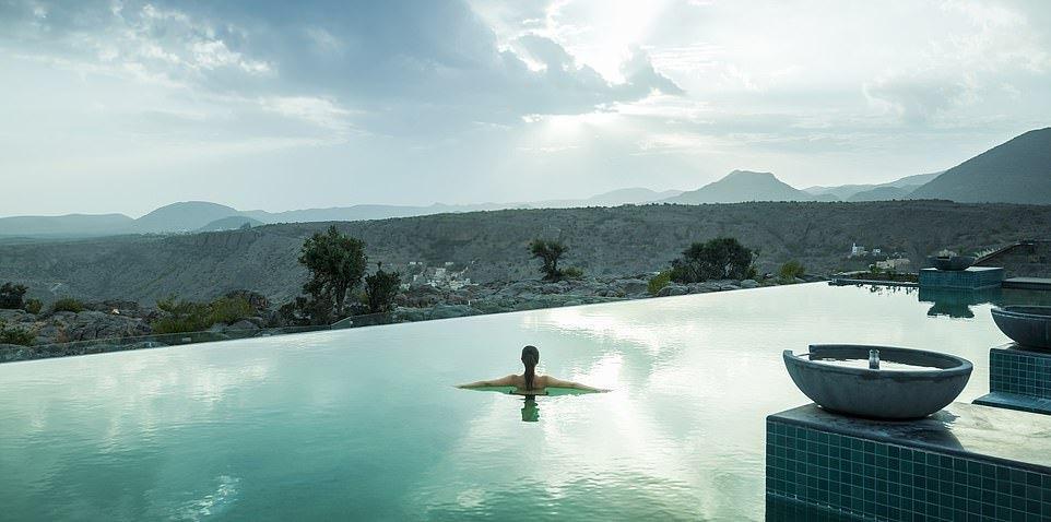 Stunning mountain top hotel in Oman