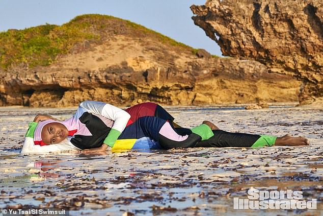 First Muslim woman in Burkini for Sports Illustrated