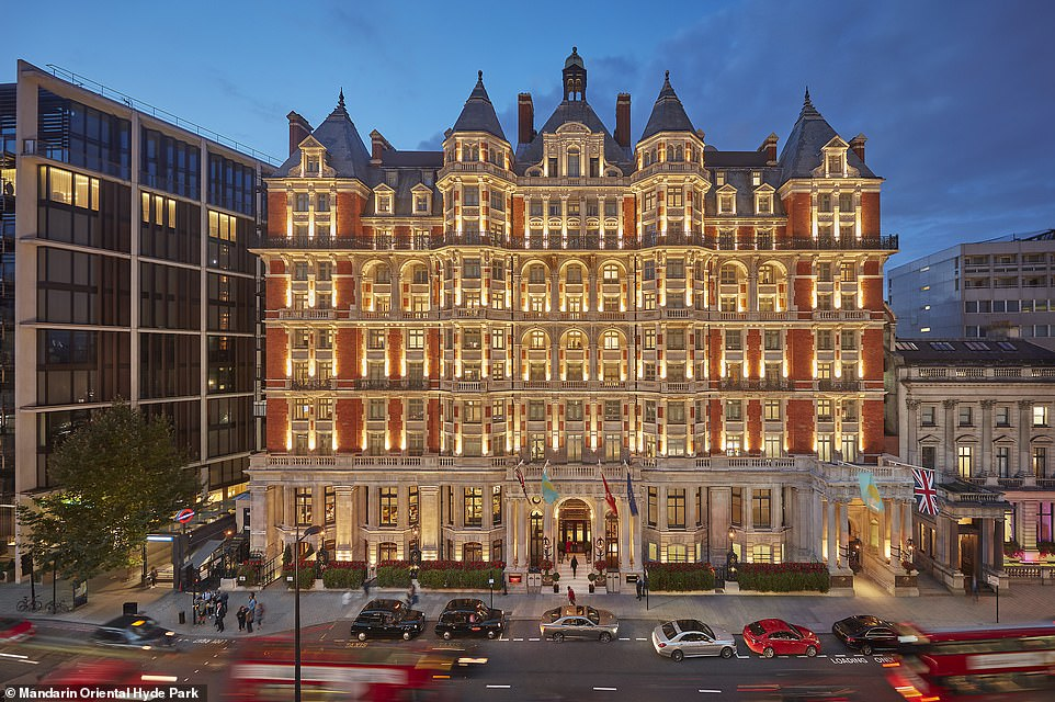 London Hotel $130 million renovation