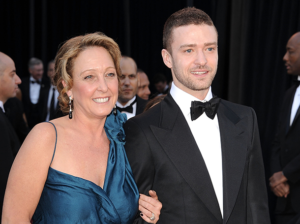 Celebrity men and their moms