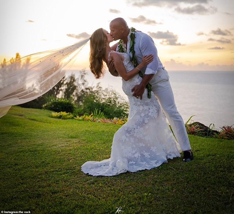 The Rock marries long-term girlfriend in Hawaii