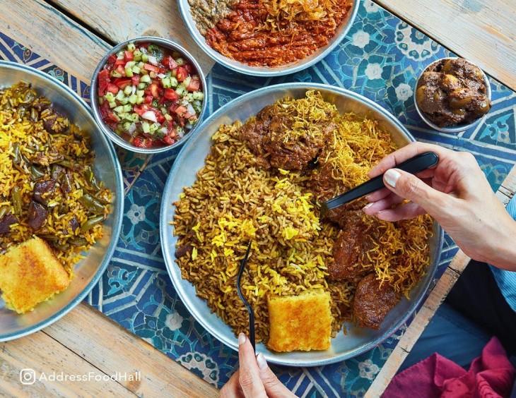 The trendiest food complex in Tehran