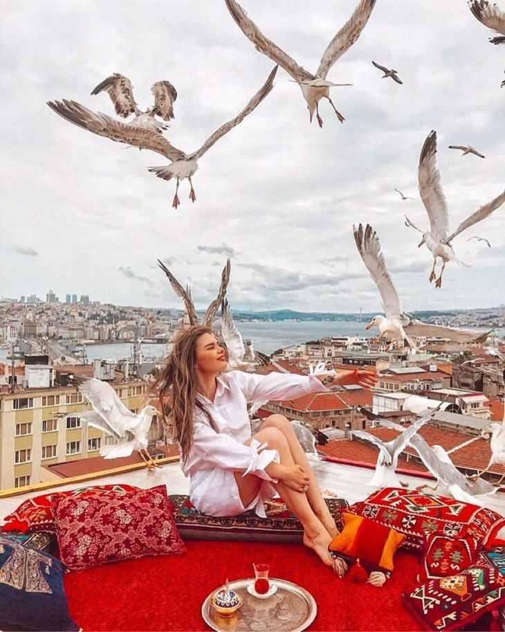 Magical views from Istanbul's most popular spot