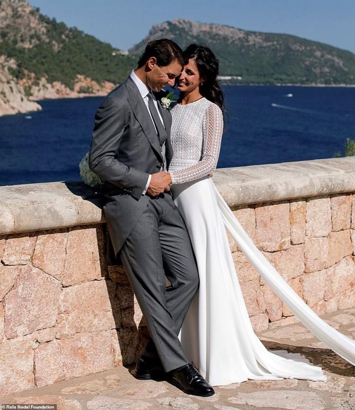 Rafael Nadal marries long time girlfriend
