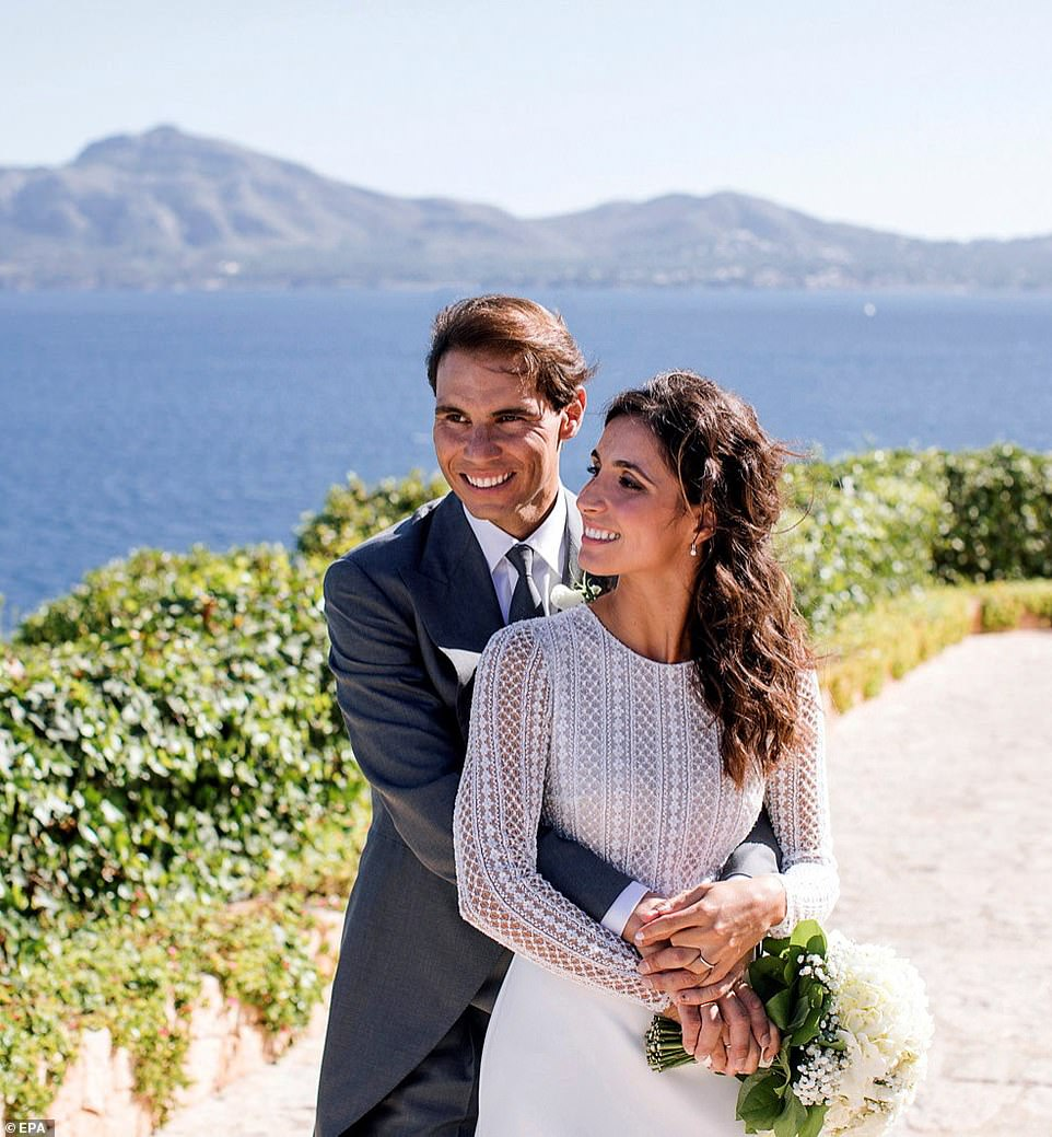 Rafael Nadal marries long time girlfriend