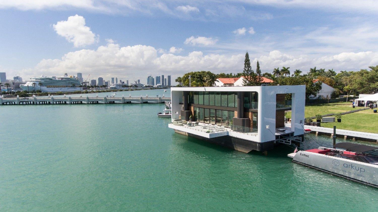 Inside Miami's floating mansion