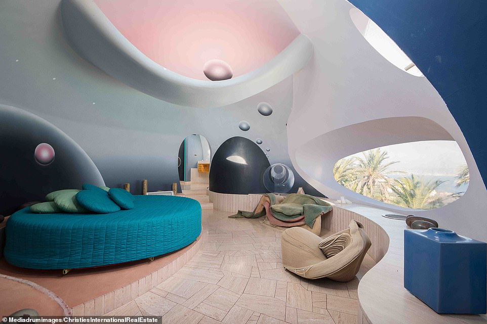 Take a look at this  wacky £300m Bubble Palace