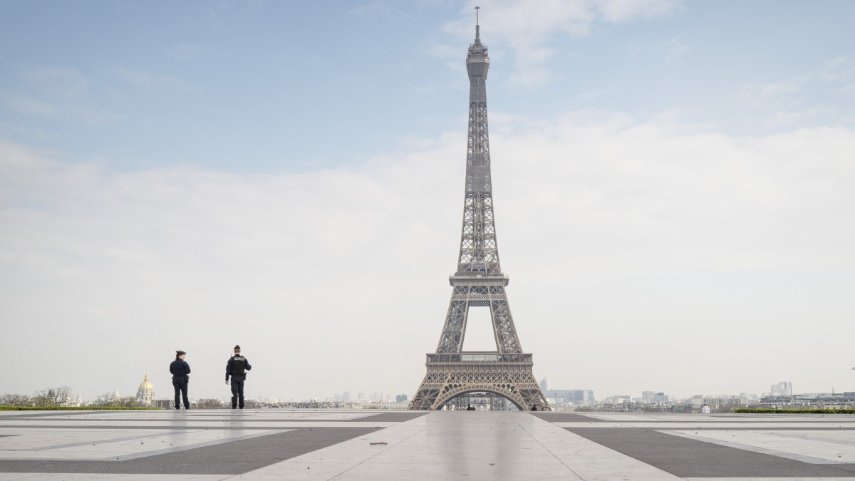 Shocking empty landmarks because of COVID-19