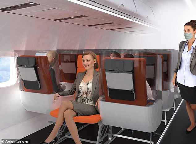 Is this what flying economy will look like due to coronavirus?