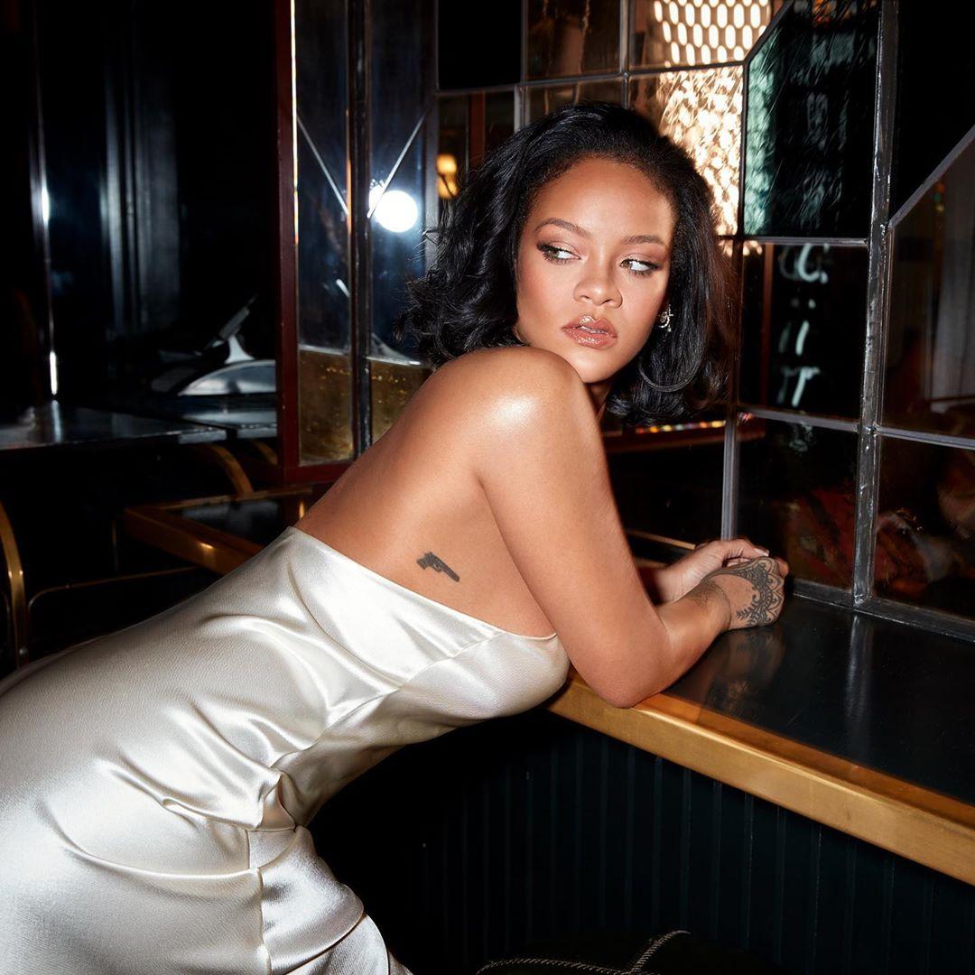 Rihanna responds to an Iranian fan on Instagram