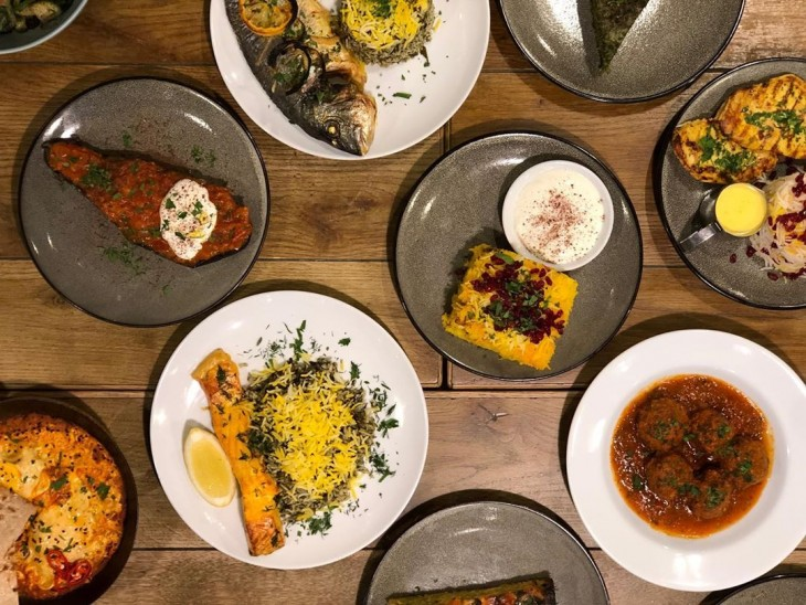 Popular Persian style eatery Gitane in London