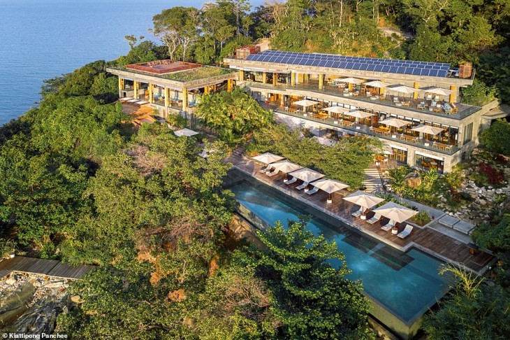 Inside this James Bond-style private island resort