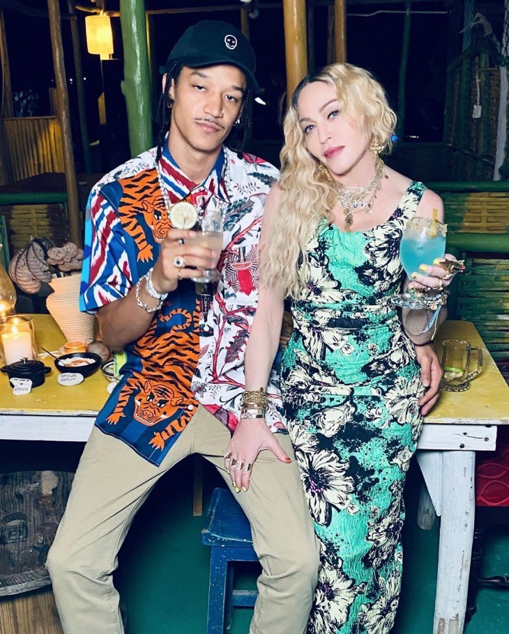 Madonna's 62nd Birthday Party in Jamaica