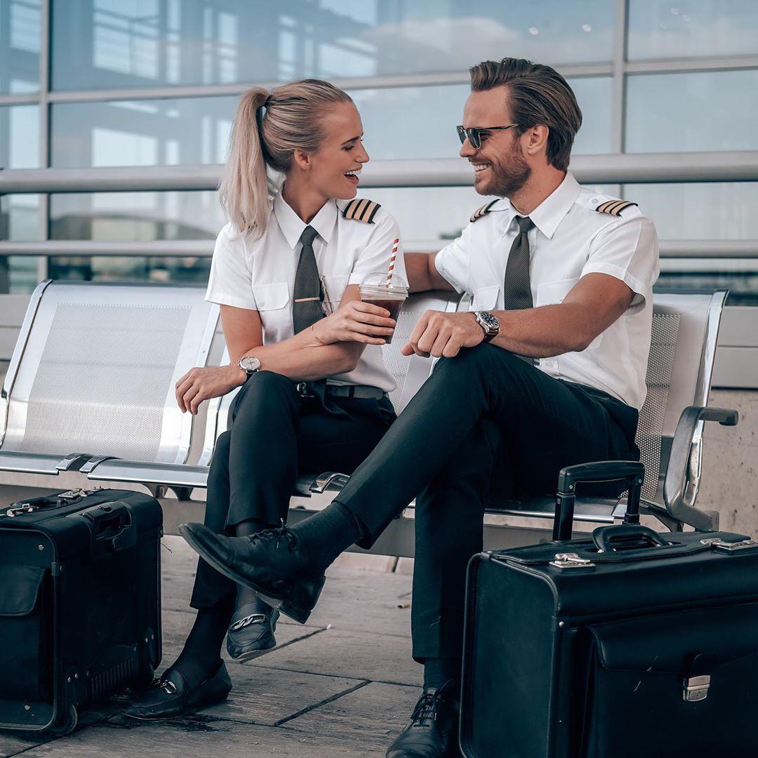 Instagram's most famous pilot couple