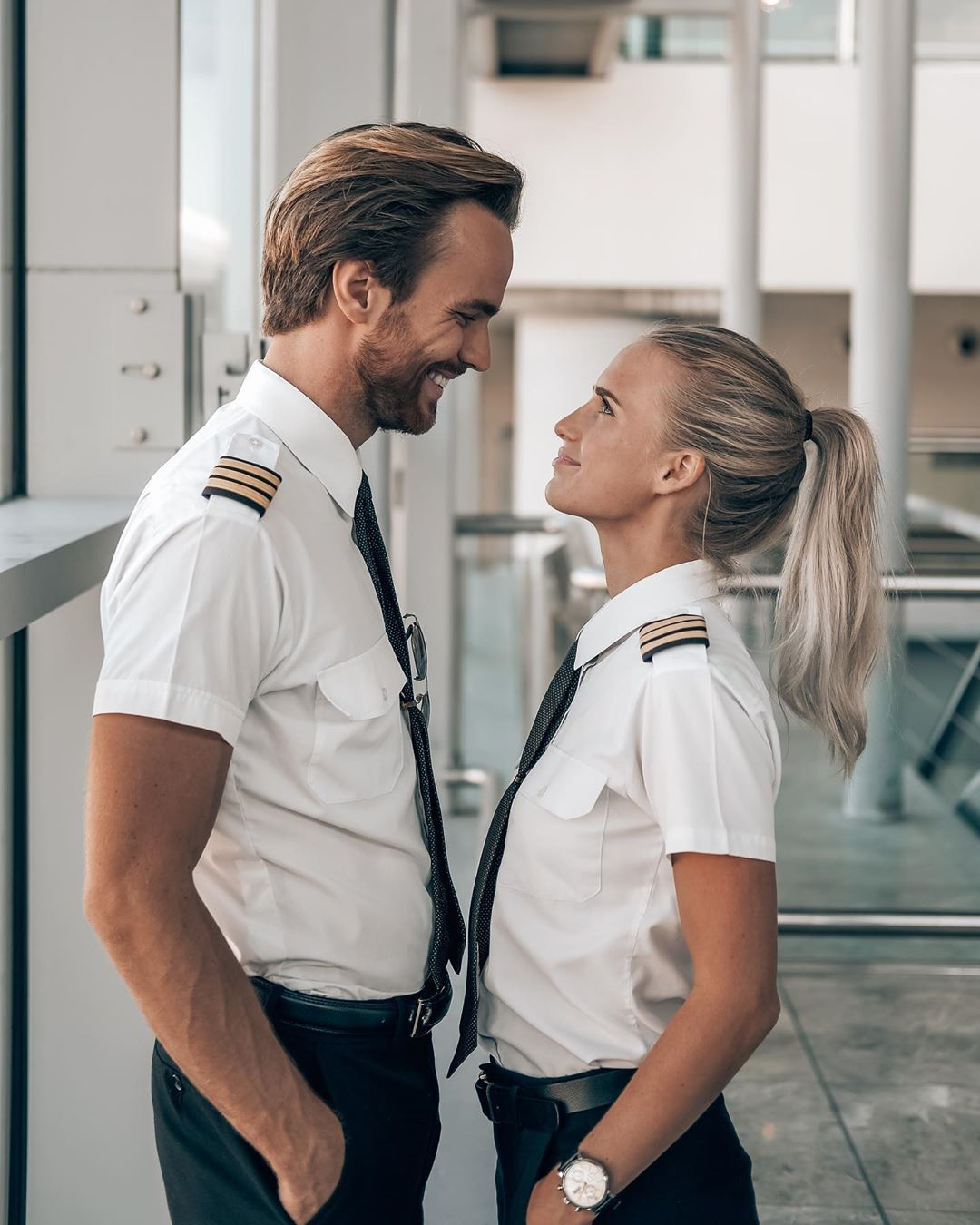 Instagram's most famous pilot couple