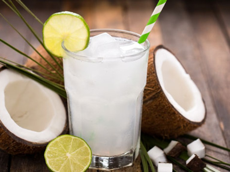 Nutritionist backed benefits of coconut water