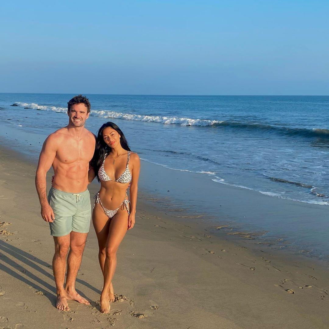 Toned couple Nicole Scherzinger and Thom Evans
