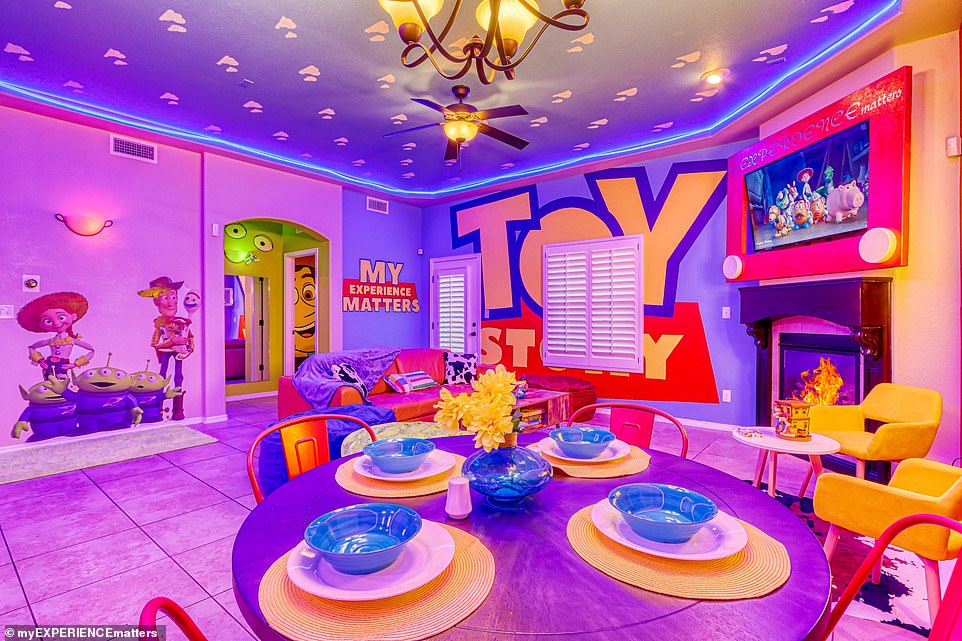 Toy Story Themed Airbnb in Texas