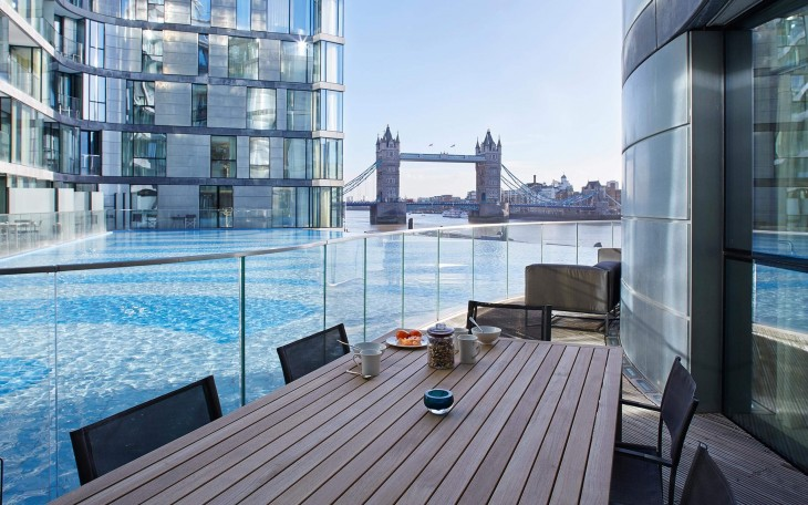 Stunning London Hotel apartments with river views